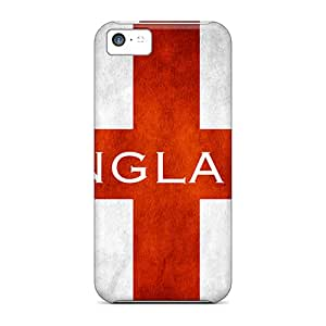 Fashion Tpu Case For Iphone 5c- England Flag Defender Case Cover