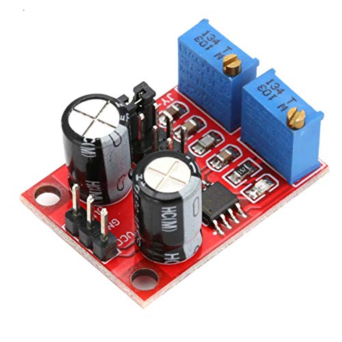 E555 LED Pulse Frequency Duty Cycle Adjustable Module Square Wave Signal Generator Board for Arduino Electronic DIY Tool