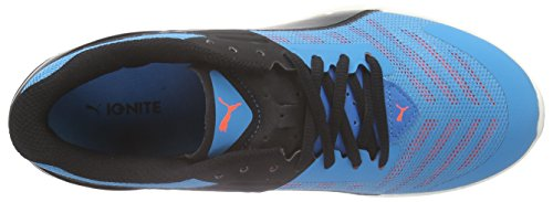 Puma Ignite V2 Jr - Zapatillas de running Unisex Niños Azul - Blau (atomic blue-black-aged silver 01)