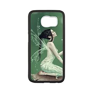 Samsung Galaxy S6 Cell Phone Case Black Lily of the Valley SU4588010