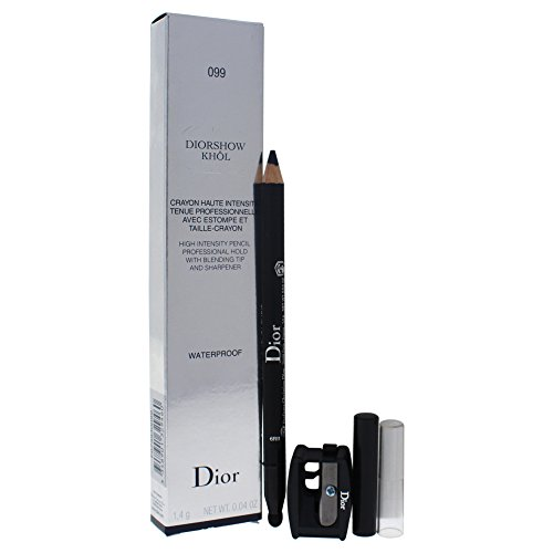 (Christian Dior Diorshow High Intensity Waterproof Pencil, Black Khol, 0.04 Ounce)
