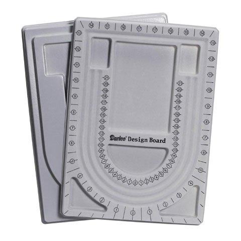 Bulk Buy: Darice DIY Crafts Flocked Bead Board with Lid 34 in (6-Pack) 1902-09 by Darice