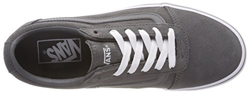 794 Zapatillas white Gris Vans Para Pewter Mujer suede Ward Suede wCBxqRZxgF