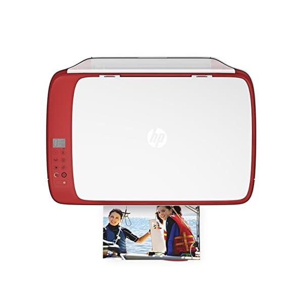 HP DeskJet 3637 - Impresora multifunción (Inyección de Tinta térmica A4, WiFi, Color, Negro, Cian, Magenta, Amarillo) Color Blanco 6
