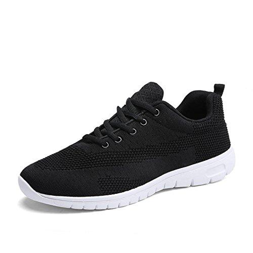 Running Fitness Bravover Sportive Ginnastica Corsa da Scarpe Sportive da Corsa Scarpe Sneakers Sneakers Nero1 Basse Uomo raC7wrOnqF