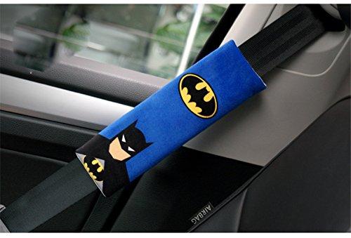 Amazon Car Seat Safety Belt Cover Seatbelt Adjustable Shoulder Pad 2pcs Set Batman Baby