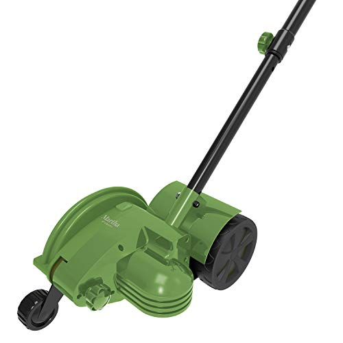 Martha Stewart 7.2-Inch 12-Amp 2-1 Electric Lawn and Landscape Edger/Trencher, Bay Leaf Green