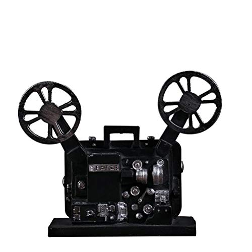 Beaupretty Creative Classical Movie Film Projector Model Vintage Figurines Ornament Resin Crafts Tabletop Decoration