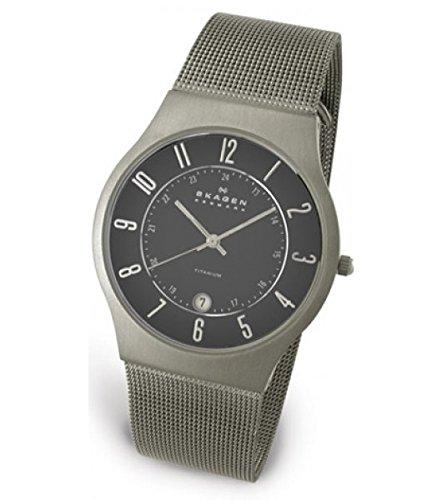 Charcoal Grey Dial Mesh Band - 2