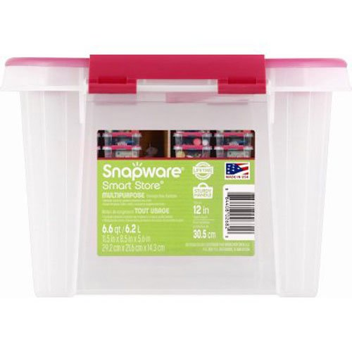 Snapware CORPORATION 1116467 12x6 Cerise Container by Snapware