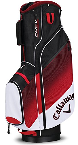 Callaway 2018 Chev Cart Bag White/Red/Black
