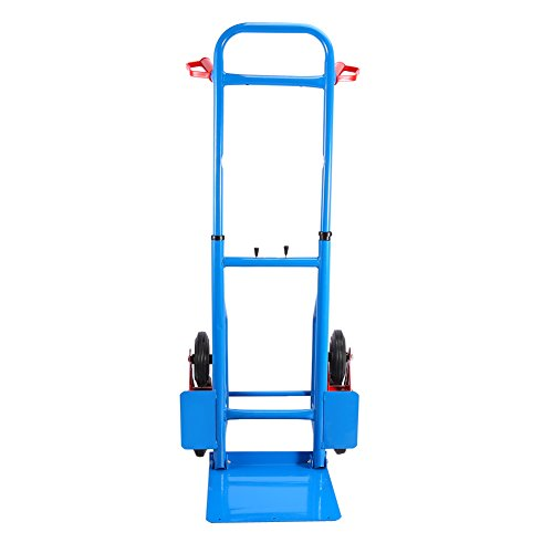 Yosoo 200kg Heay Duty 6 Wheel Stair Climber Sack Truck