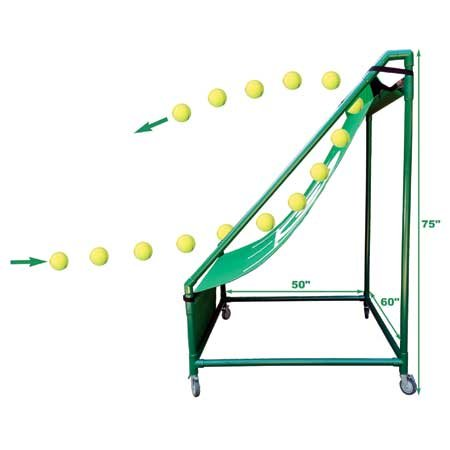 Oncourt Offcourt Perfect Pitch Rebounder For Tennis - Set Up In 2 Minutes/Outdoor & Indoor Use/For All ()