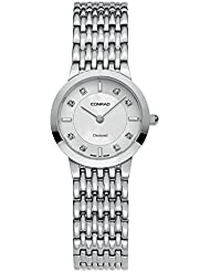 Womens Diamond Swiss Made Watch With Sapphire Glass 25MM Conrad
