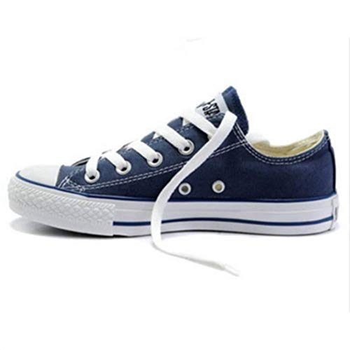 all Star Tops Czyzooyhwv 43EUR Uomo Low Taylor Conver Pumps Blu Unisex Chuck Trainers xEqY0rAq