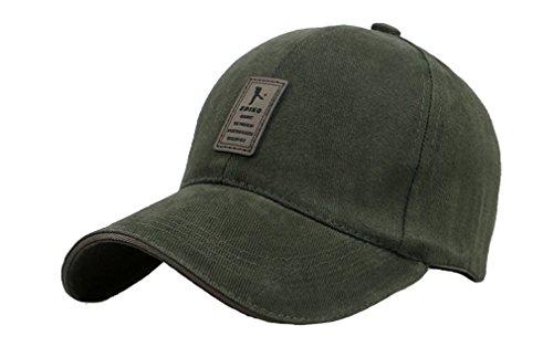 Donna taglia per baseball Man unica in Cappello cotone sole da esterno verde Acvip I8Pqxaqw