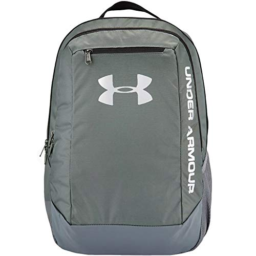 Under Armour Men's Hustle LD Water Resistant Backpack Laptop, Graphite (040), One Size