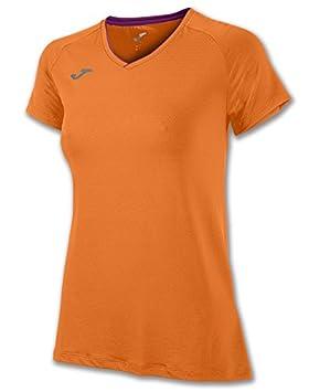 Joma Free 900222 - Camiseta para Mujer, Color Naranja, Talla XS: Amazon.es: Deportes y aire libre