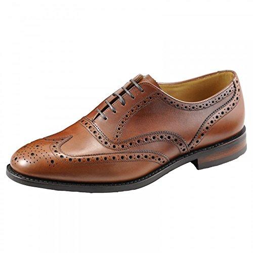 Brown Schuhe Mens Sich Formale Spitzen Loake Cumbria Antique 6w04S