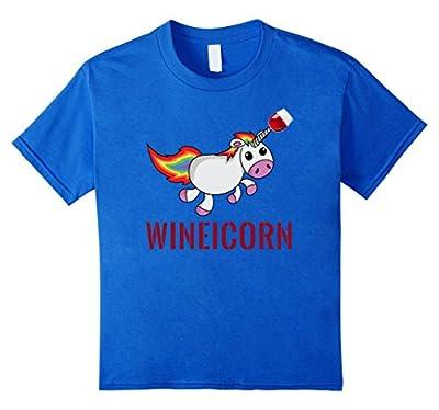 Wineicorn Funny Wine Drinking T Shirt Gift Unicorn