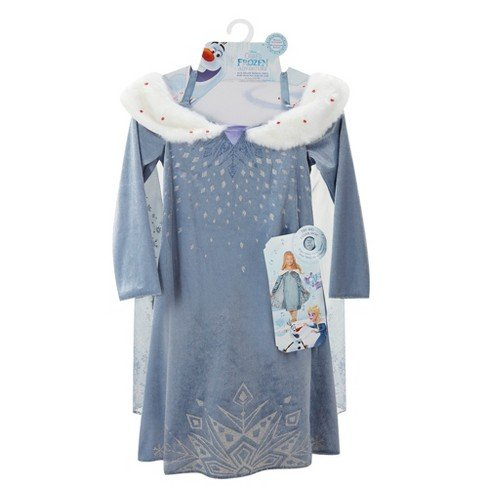 Disney Olaf's Frozen Adventure Elsa Deluxe Musical Kids' Dress