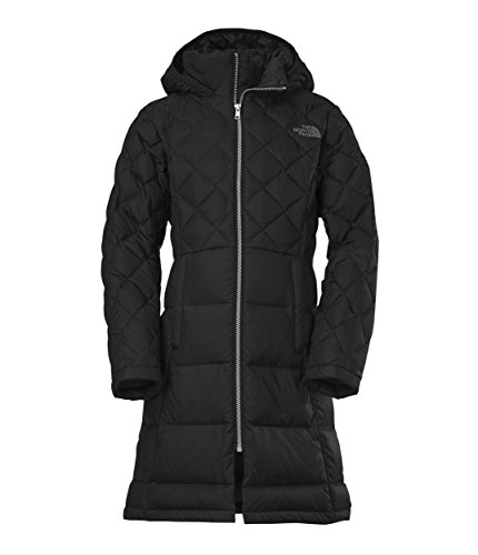 The North Face Kids Girl's Metropolis Down Jacket (Little Kids/Big Kids) TNF Black Outerwear SM (7-8 Big Kids) by The North Face