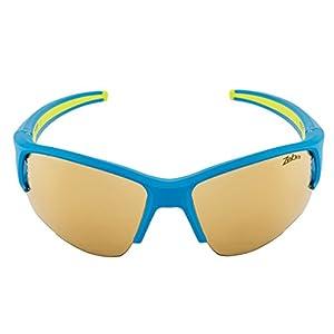 Julbo Venturi Performance Sunglasses, Blue/Green, Zebra Lens, Medium