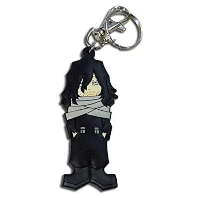 Great Eastern Entertainment My Hero Academia - SD Aizawa PVC Keychain: Toys & Games