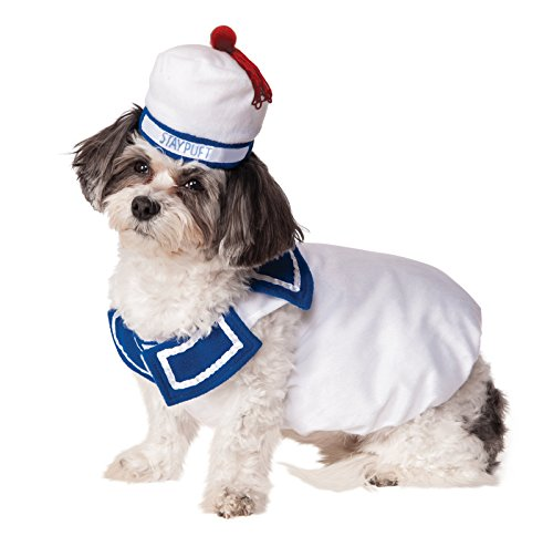 Ghostbusters Movie Pet Costume, Small, Stay-Puft Marshmallow