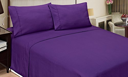 Morgan 3 Piece (Home Dynamix JMFS-350 3-Piece Jill Morgan Fashion Bed Set, Twin, Purple)