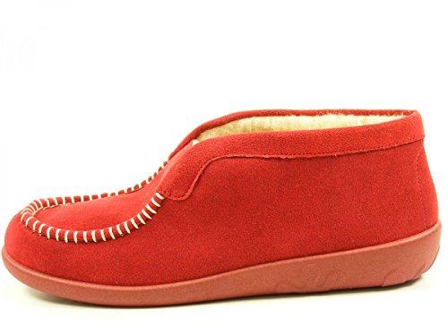 Rohde Ballerup 2236 Zapatillas de casa para mujer Rot