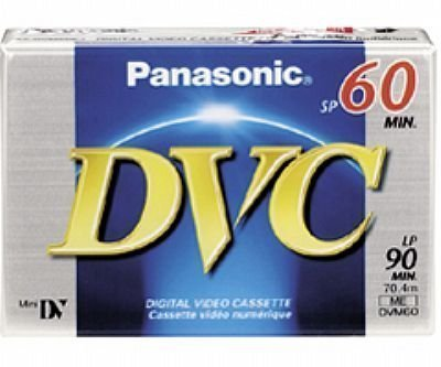 Panasonic DVM60EJ50P 60 Minutes Mini DV - 50 Pack by Panasonic