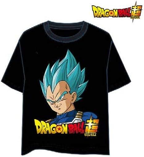 LAST LEVEL Camiseta Dragon Ball Vegeta God L Camisa Cami, Multicolor, Adultos Unisex: Amazon.es: Ropa y accesorios