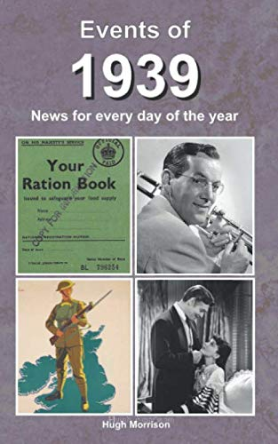 80 Th Birthday Ideas (Events of 1939: news for every day of the)