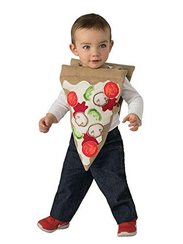 Rubie's Baby Opus Collection Lil Cuties Pizza Costume Tabard, As As Shown, Infant]()