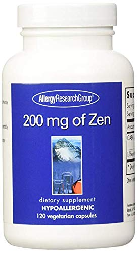 - Allergy Research Group 200 Mg of Zen 120 Capsules