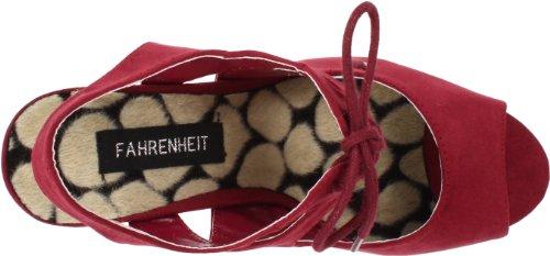 Fahrenheit Donna Landi-12 Slingback Sandalo Vino
