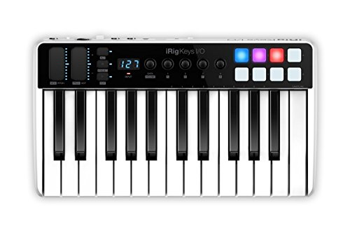 IK Multimedia Midi Controller, 25-key (IP-IRIG-KEYSIO25-IN)