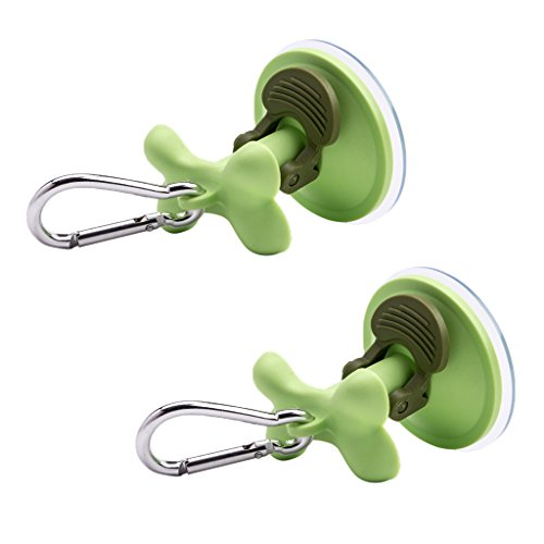 All Purpose Cup - MagiDeal 2 Pcs Portable Pet Dog Leash Suction Hook Perfect For Travel Bathing Random