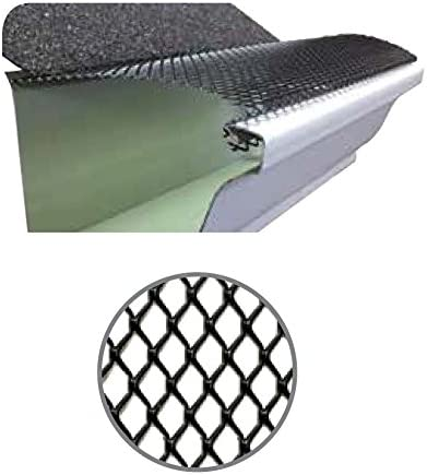 """200/' ULTRA FLO STEP DOWN GUTTER GUARD 200 feet of 5/""""  Leaf Protection"""