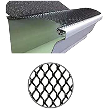 100 Feet Ultra Flo Leaf Guard Gutter Protector For 5 Quot K
