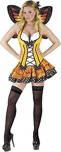 Spring Butterfly Adult Costume - (Sexy Monarch Fairy Costumes)