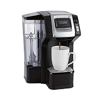 Hamilton Beach 49968 FlexBrew Connected Single-Serve Coffee Maker, with Amazon Dash Auto Replenishment for Coffee Pods
