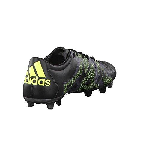 Football Fg Chaussures 15 Noir Ag Homme Jaune De 2 Pour Adidas Leather Gris X tYZnqw88x