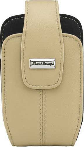 BlackBerry Leather Swivel Holster for BlackBerry 8300, 8310, 8320, 8330 (Ecru Tan) Blackberry 8300 Curve Leather