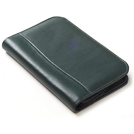 Clava Color Junior Zip Padfolio in Black