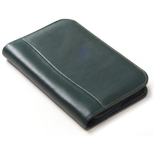 (Clava Color Junior Zip Padfolio in Black)