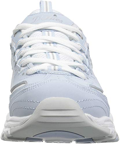 Skechers Bleu Fan Baskets biggest D'lites Basses Femmes r7wrqYAP