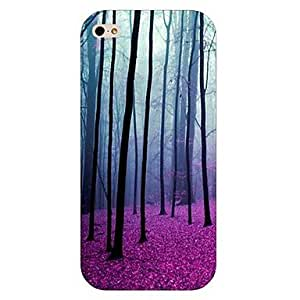 Tree Pattern Hard Back Case for iPhone 5/5S