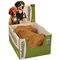 Whimzees Veggie Ears Dental Treat Box of 18, 18 Count Large